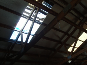 Barn needs a new skylight