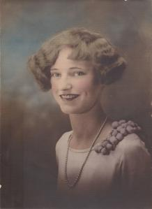 Grandma (Hermina) when she was maybe 16 y/o