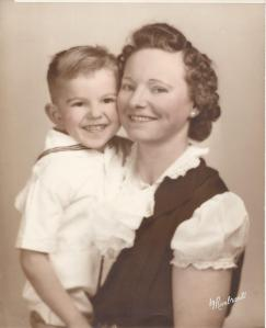 Dad and Grandma (Tom and Hermina) (She was almost 40 when he was born)